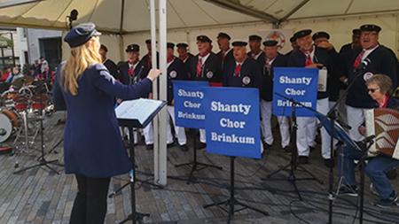Shanty-Chor Brinkum in Leeuwarden/Niederlande