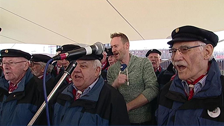 Shanty-Chor Brinkum beim NDR