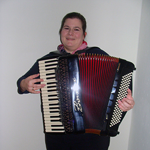 Shanty-Chor Musikerin Christiane